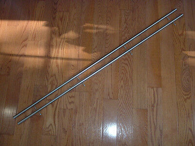 Pair 50 Long58 Diameter Stainless Steel Rails To Build Cnc Router3d Printer