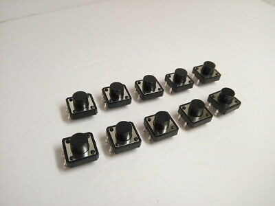 10x Pack Lot 12 X 12 X 8 Mm Push Tact Tactile Momentary Micro Button Switch Dip