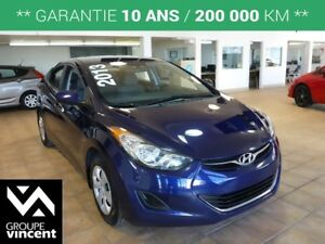 2013 Hyundai Elantra L**LECTEUR CD / MP3**