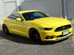 2016 Ford Mustang FM 2017MY GT Fastback Yellow 6 Speed Manual Fastback Bundoora Banyule Area Preview
