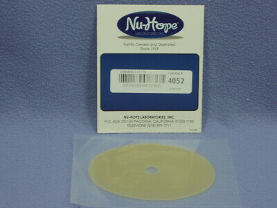Nu-Hope #4052 Oval Skin Barrier Disc - 3¾
