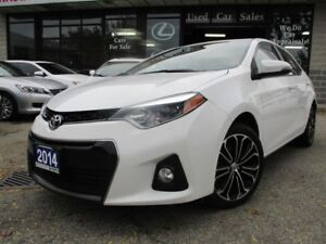 2014 Toyota Corolla S-S-SUNROOF-CAMERA-ALLOYS-HEATED-BLUE-TOOTH