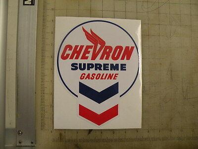"Vintage Chevron Supreme sticker 7""x9"""