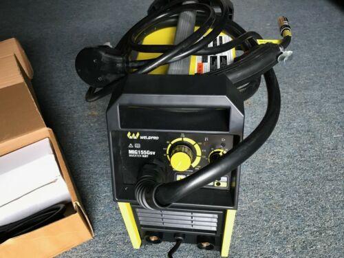 Weldpro 155 Amp Inverter MIG / Stick Arc Welder with Dual Voltage 220V/110V