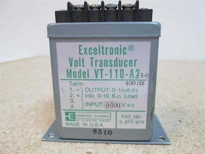 Scientific Columbus Exeltronic Vt-110-a2 Volt Transducer Usa Made Used