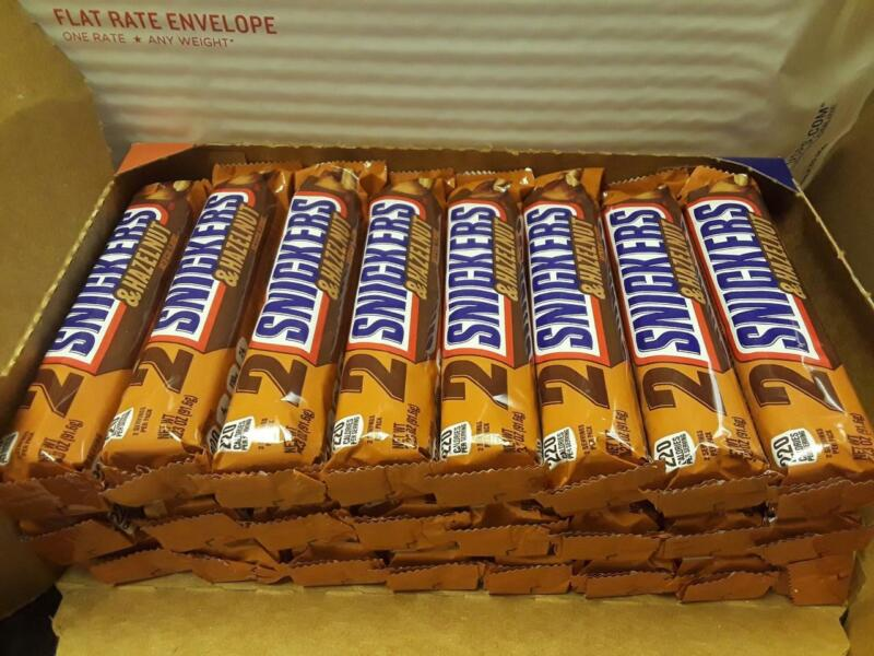 SNICKERS & HAZELNUT   KING SIZE 3.23 oz Candy Bars -Case of 24