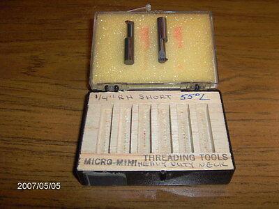 Kaiser Thinbit Tt40cr Carbide Rh Threading Tool 11-56 Tpi 14 Min Bore  2pcs