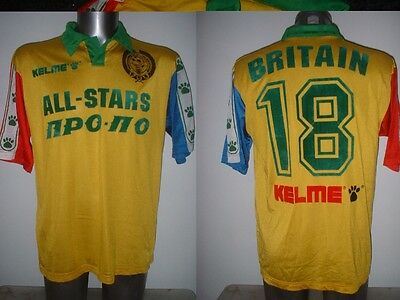 PFA All Stars Represntitive Match Shirt Jersey Soccer Adult Large Kelme Spain
