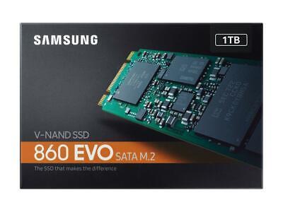 Samsung 860 EVO 1TB M2 V-NAND M.2 SSD 1TB MZ-N6E1T0BW Brand New