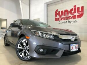 2016 Honda Civic Sedan EX-T w/turbo charged EXTENDED WARRANTY