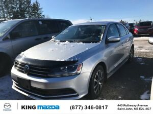 2015 Volkswagen Jetta Sedan Comfortline SUNROOF..6 SPEED MANUAL.