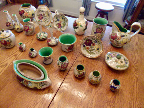 GOUDA POTTERY COLLECTION-FROM HOLLAND