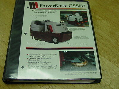 Powerboss Industrial Sweeperscubber Armadillo Model Css 82 Mainttroubleshoot
