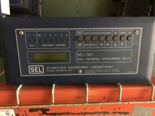 SEL-501 Dual Universal Overcurrent Relay