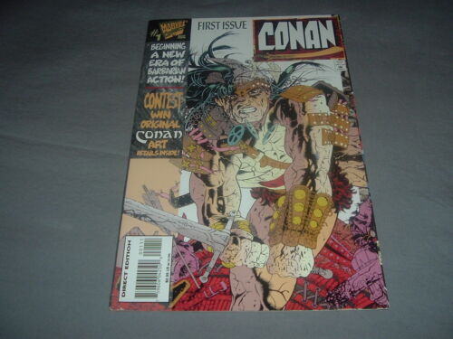 First Issue Conan Marvel Comics.Conan Comic Book 1st Issue.