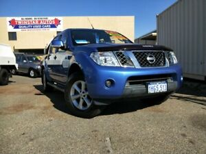 2012 Nissan Navara D40 ST (4x4) Blue 5 Speed Automatic Dual Cab Pick-up Malaga Swan Area Preview
