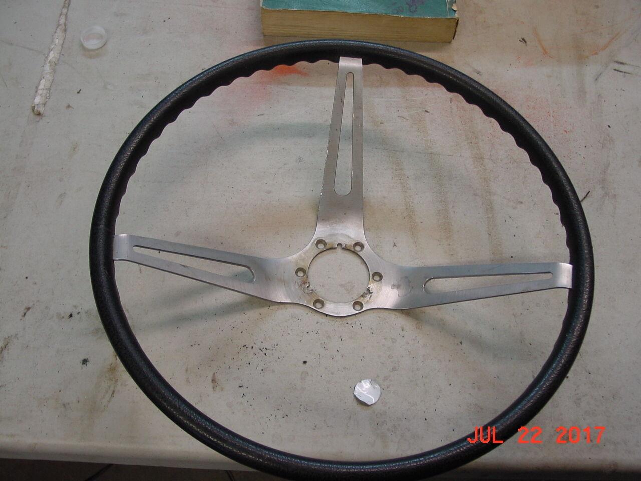 corvette c2 1963 black steering wheel