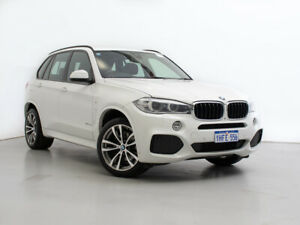 2013 BMW X5 F15 xDrive30d White 8 Speed Automatic Wagon Jandakot Cockburn Area Preview