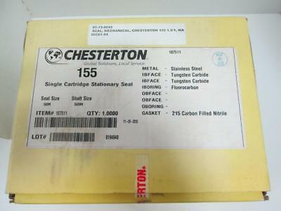 Chesterton 155 Single Cartridge Stationary Seal 187511 Size 50mm With Paperwork