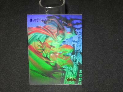 BATMAN © 1996 Fleer SkyBox Holocel Insert Card - Book Value $15.00