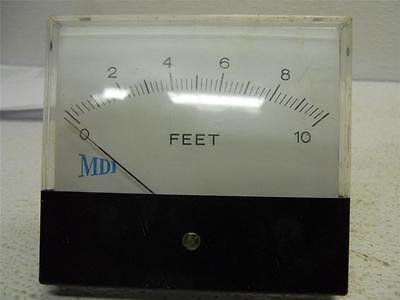 Hoyt Meter Mdi Measures Feet 0-10 Used
