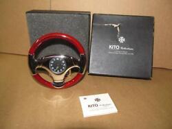 New Kito Japan Cigar Accessories Steering Wheel Clock