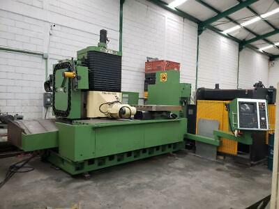 Anayak Fbz-hv-2500 Cnc Traveling Column Bed Mill With Rotary Table Heidenhein