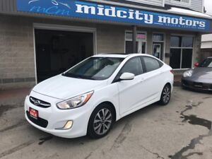 2017 Hyundai Accent SE, Sunroof! Heated Seats! Auto! Alloy Wheel