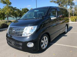 2007 Nissan Elgrand E51 Highway Sta 8 Seats Series 2 Black 5 Speed Automatic Wagon Arundel Gold Coast City Preview