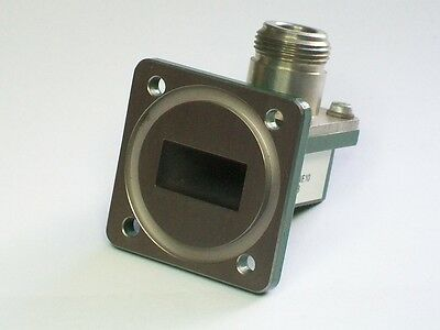 Fmi Flann Microwave Wr75 10-15 Ghz Microwave Waveguide Adapter Square Flange