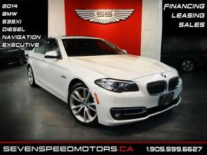 2014 BMW 5 Series 535xi DIESEL | EXECUTIVE | NAV | FINANCE @4.65