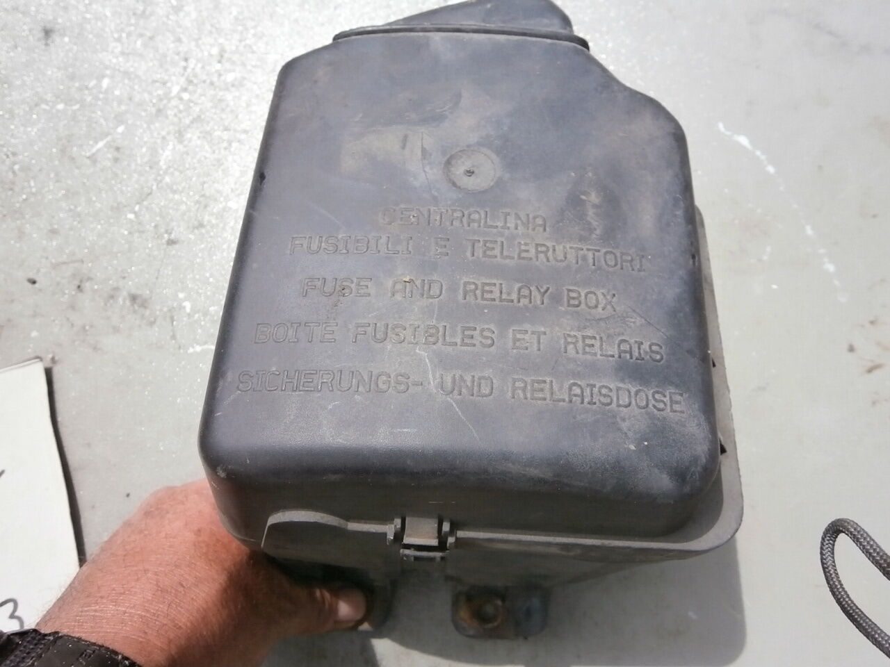 Fiat External Engine Compartment Fuse Box Cluster Complete Punto 99 Stilo 7 Of 9 06