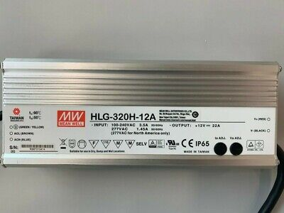 Used Hlg-320h-12a Mean Well 320w Led Power Supply