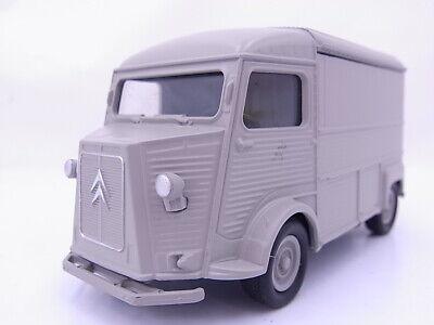 Citroen Typ H grau ca 10 cm Modellauto Metall Spritzguss Neuware von WELLY