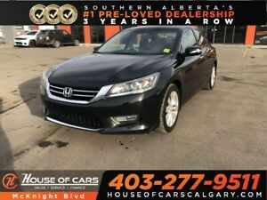 2013 Honda Accord EX-L V6 (A6) / Leather / Sunroof / Back Up Cam