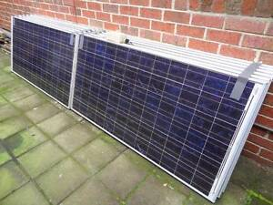 12 x BP 165W Solar Panels and SMA Grid Tie Inverter 2KW System Brighton Bayside Area Preview