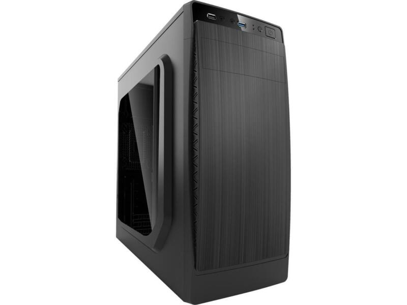 Compucase HEC HX310 Mid Tower with Full Transparent Acrylic Side Panel and USB 3