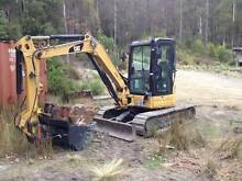 Dry Hire - Caterpillar 304C CR 5T Excavator Fern Tree Hobart City Preview