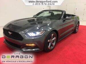 2015 Ford Mustang CONVERTIBLE V6 CAMERA AUTOMATIQUE MAGS 18P SON