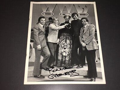 "RARE ""WHO, WHAT OR WHERE"" GAME SHOW CELEB GUEST DAY PIC + PRODUCER SIGNED + COA!"