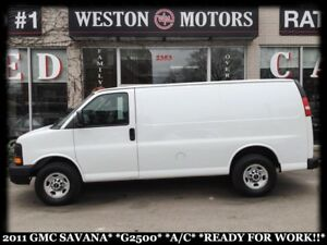 2011 GMC Savana 2500 A/C*READY FOR WORK!!*