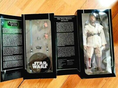 "STAR WARS SIDESHOW OBI WAN KENOBI ORDER OF THE JEDI 12"" FIGURE 1:6 **RARE**"