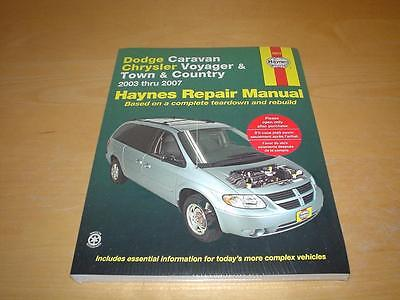 Haynes CHRYSLER GRAND VOYAGER (03-07) Owners Repair Manual Service Handbook Book