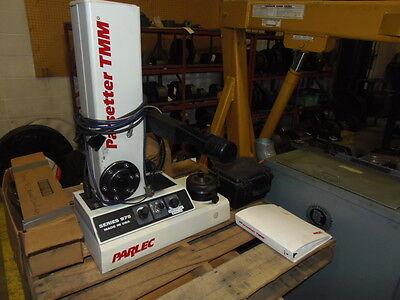 Parlec Tool Presetter Model P975-50-1218x 50 Taper Manuals No Computer 2004