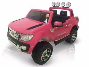 12v Licensed FORD RANGER ride on car w/Leather Seat - Pink Cartwright Liverpool Area Preview
