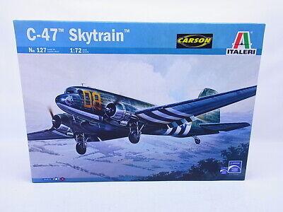 LOT 69521 | Italeri 127 C-47 Skytrain Flugzeug Bausatz 1:72 NEU in OVP