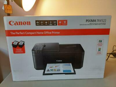Canon Pixma TR4522 Wireless Fax Printer All-in-One Inkjet WiFi Scanner - $128.99