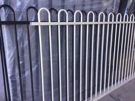 Loop Top Pool Fencing 1200x2400 Certified -Steel