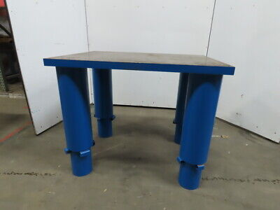48x36x25-40h Welding Assembly Layout Table Bench Machine Base 2 Thick Top