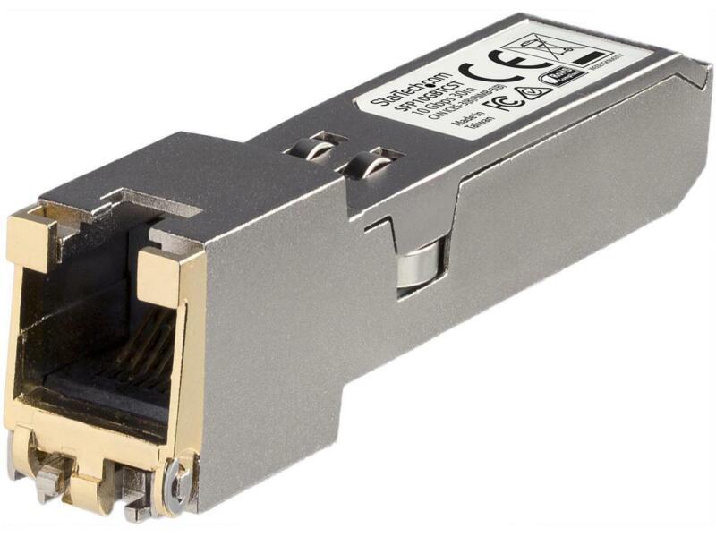 StarTech.com SFP10GBTCST Compatible SFP+ Transceiver Module - 10GBASE-T